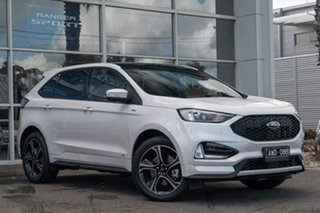 2018 Ford Endura CA 2019MY ST-Line SelectShift AWD White Platinum 8 Speed Sports Automatic Wagon.