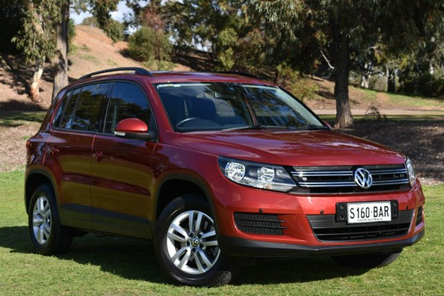 Used Volkswagen Tiguan 5N MY14 118TSI DSG 2WD, 2014 Volkswagen Tiguan 5N MY14 118TSI DSG 2WD Red 6 Speed Sports Automatic Dual Clutch Wagon