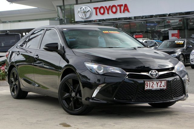 Used Toyota Camry ASV50R Atara SX, 2016 Toyota Camry ASV50R Atara SX Eclipse Black 6 Speed Sports Automatic Sedan