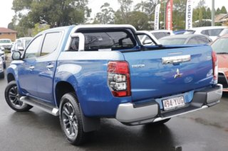 2019 Mitsubishi Triton MR MY19 GLS Double Cab Impulse Blue 6 Speed Sports Automatic Utility.