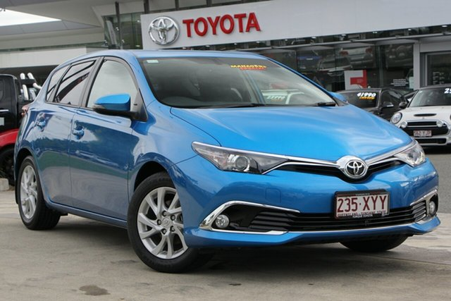 Used Toyota Corolla ZRE182R Ascent Sport S-CVT, 2018 Toyota Corolla ZRE182R Ascent Sport S-CVT Blue Gem 7 Speed Constant Variable Hatchback