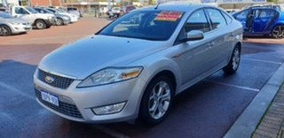 2010 Ford Mondeo MB MY11 LX PwrShift TDCi Silver 6 Speed Sports Automatic Dual Clutch Hatchback