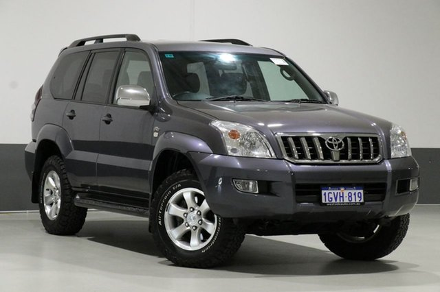 Used Toyota Landcruiser Prado KDJ120R MY07 GXL (4x4), 2007 Toyota Landcruiser Prado KDJ120R MY07 GXL (4x4) Grey 6 Speed Manual Wagon