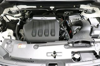 2018 Mitsubishi Eclipse Cross YA MY18 LS (2WD) White Solid Continuous Variable Wagon