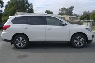 2018 Nissan Pathfinder R52 Series III MY19 ST X-tronic 2WD Ivory Pearl 1 Speed Constant Variable.