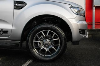 2017 Ford Ranger PX MkII 2018.00MY FX4 Double Cab Silver 6 Speed Sports Automatic Utility