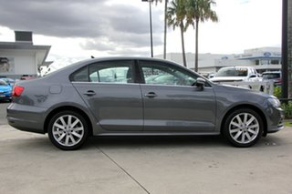 2015 Volkswagen Jetta 1B MY15 118TSI DSG Comfortline Dark Grey 7 Speed Sports Automatic Dual Clutch.