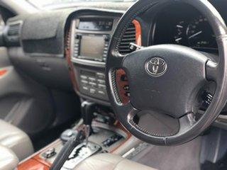2005 Toyota Landcruiser HDJ100R Sahara White 5 Speed Automatic Wagon.