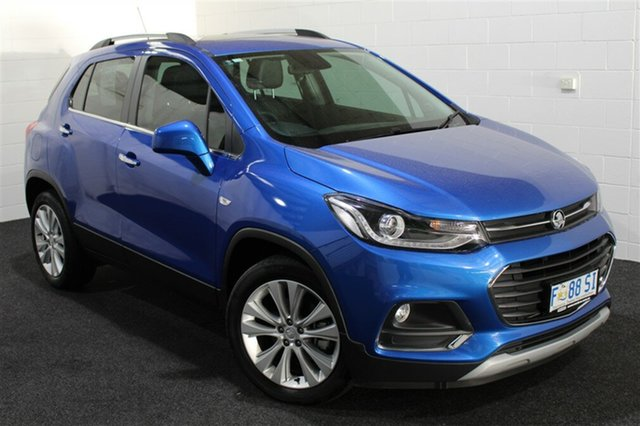 Used Holden Trax TJ MY17 LT, 2017 Holden Trax TJ MY17 LT Boracay Blue 6 Speed Automatic Wagon