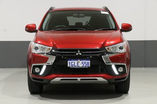 2018 Mitsubishi ASX XC MY19 ES (2WD) Red Continuous Variable Wagon.