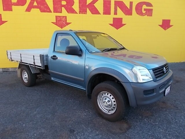 Used Holden Rodeo RA MY06 LX 4x2, 2006 Holden Rodeo RA MY06 LX 4x2 Blue 5 Speed Manual Cab Chassis