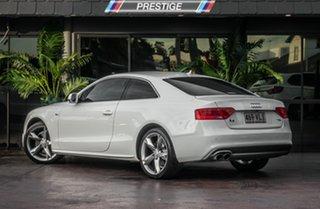 2014 Audi A5 8T MY15 1.8 TFSI White CVT Multitronic Coupe.