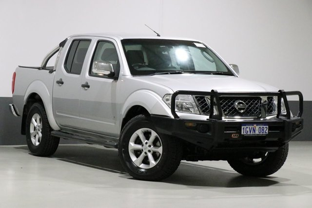 Used Nissan Navara D40 MY12 ST-X (4x4), 2014 Nissan Navara D40 MY12 ST-X (4x4) Silver 7 Speed Automatic Dual Cab Pick-up