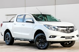 2016 Mazda BT-50 UR0YF1 GT Cool White 6 Speed Sports Automatic Utility.
