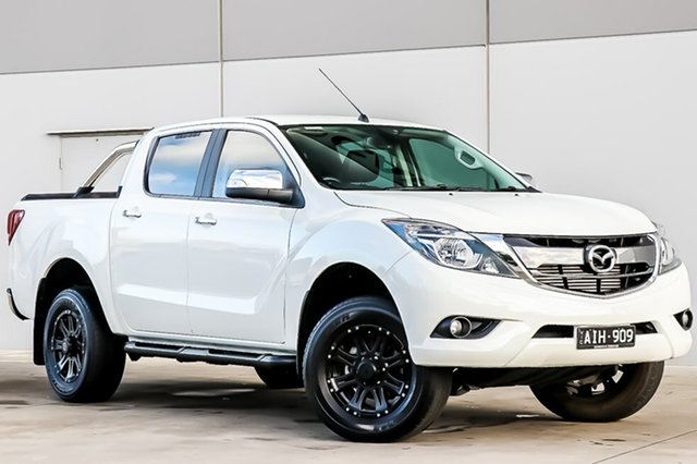 Used Mazda BT-50 UR0YF1 GT, 2016 Mazda BT-50 UR0YF1 GT Cool White 6 Speed Sports Automatic Utility