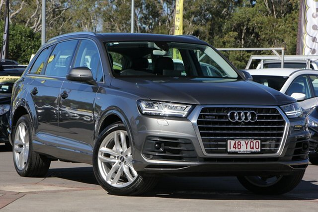 Used Audi Q7 4M MY16 TDI Tiptronic Quattro, 2015 Audi Q7 4M MY16 TDI Tiptronic Quattro Grey 8 Speed Sports Automatic Wagon