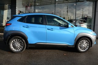 2019 Hyundai Kona OS.3 MY20 Elite 2WD Ceramic Blue 6 Speed Sports Automatic Wagon