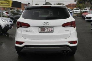 2017 Hyundai Santa Fe DM5 MY18 Highlander White Crystal 6 Speed Sports Automatic Wagon