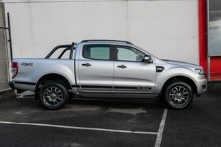 2017 Ford Ranger PX MkII 2018.00MY FX4 Double Cab Silver 6 Speed Sports Automatic Utility.