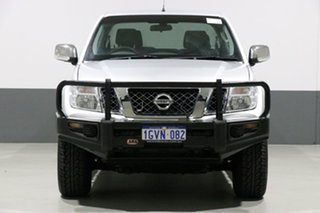 2014 Nissan Navara D40 MY12 ST-X (4x4) Silver 7 Speed Automatic Dual Cab Pick-up.