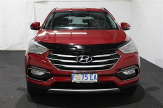 2016 Hyundai Santa Fe DM3 MY17 Active Red Merlot 6 Speed Sports Automatic Wagon.