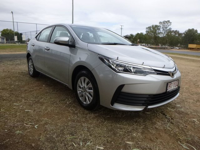 Demo Toyota Corolla ZRE172R Ascent S-CVT, 2019 Toyota Corolla ZRE172R Ascent S-CVT Silver Ash 7 Speed Constant Variable Sedan