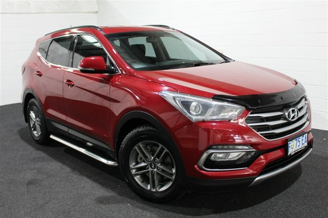 Used Hyundai Santa Fe DM3 MY17 Active, 2016 Hyundai Santa Fe DM3 MY17 Active Red Merlot 6 Speed Sports Automatic Wagon