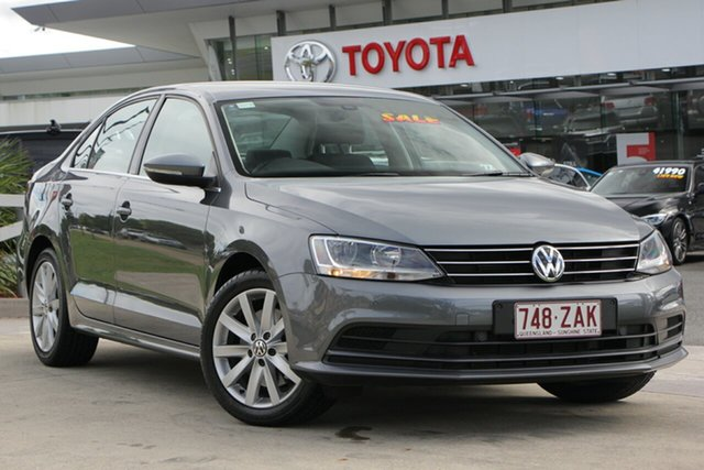 Used Volkswagen Jetta 1B MY15 118TSI DSG Comfortline, 2015 Volkswagen Jetta 1B MY15 118TSI DSG Comfortline Dark Grey 7 Speed Sports Automatic Dual Clutch