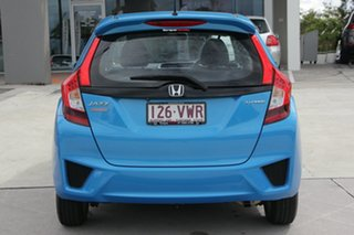2015 Honda Jazz GF MY15 Limited Edition Blue 1 Speed Constant Variable Hatchback