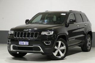 2014 Jeep Grand Cherokee WK MY15 Limited (4x4) Black 8 Speed Automatic Wagon.