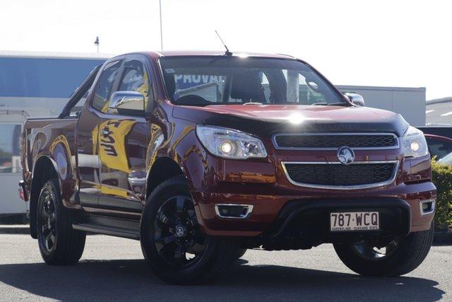 Used Holden Colorado RG MY15 LTZ Space Cab, 2015 Holden Colorado RG MY15 LTZ Space Cab Sizzle 6 Speed Sports Automatic Utility