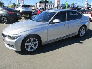 2012 BMW 328i F30 Silver 8 Speed Sports Automatic Sedan.
