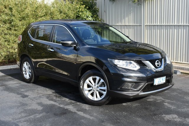 Used Nissan X-Trail T32 ST X-tronic 4WD, 2014 Nissan X-Trail T32 ST X-tronic 4WD Diamond Black 7 Speed Constant Variable Wagon