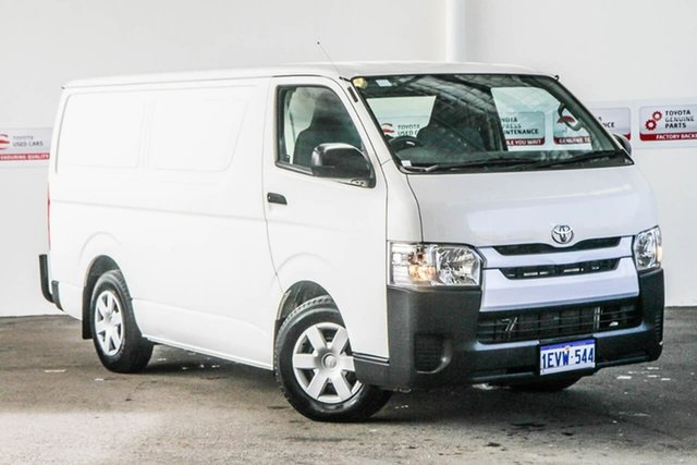 Used Toyota HiAce KDH201R MY15 LWB, 2015 Toyota HiAce KDH201R MY15 LWB French Vanilla 5 Speed Manual Van