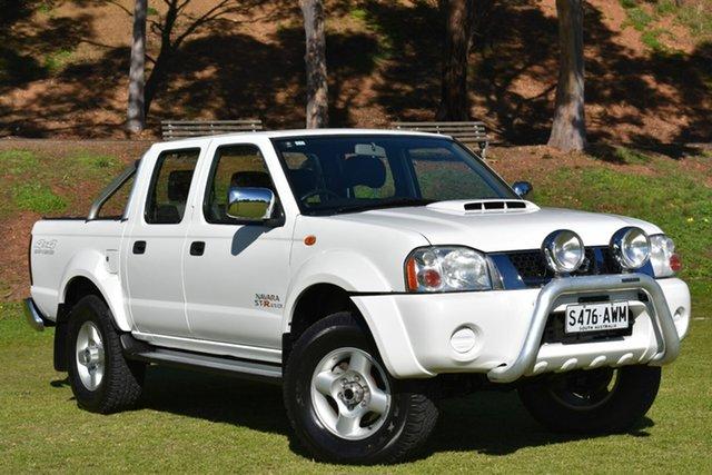 Used Nissan Navara D22 S5 ST-R, 2012 Nissan Navara D22 S5 ST-R White 5 Speed Manual Utility