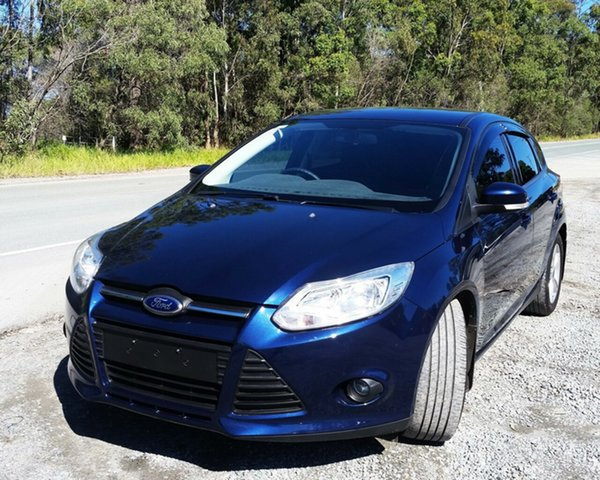 Used Ford Focus LW MkII Trend PwrShift, 2012 Ford Focus LW MkII Trend PwrShift Blue 6 Speed Sports Automatic Dual Clutch Hatchback