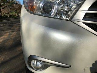 2012 Toyota Kluger GSU45R MY12 KX-S AWD White 5 Speed Sports Automatic Wagon.