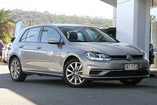 2018 Volkswagen Golf 7.5 MY18 110TSI DSG Comfortline Tungsten Silver 7 Speed.