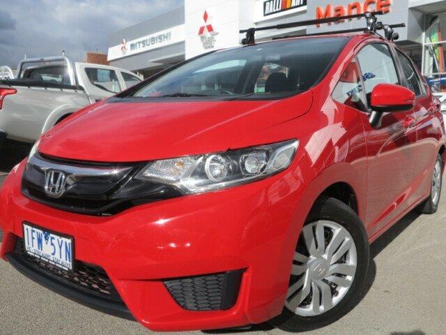 Used Honda Jazz GF MY15 VTi, 2015 Honda Jazz GF MY15 VTi Red 5 Speed Manual Hatchback