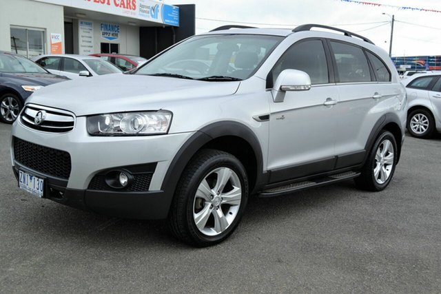 Used Holden Captiva CG Series II 7 CX (4x4), 2012 Holden Captiva CG Series II 7 CX (4x4) Silver 6 Speed Automatic Wagon