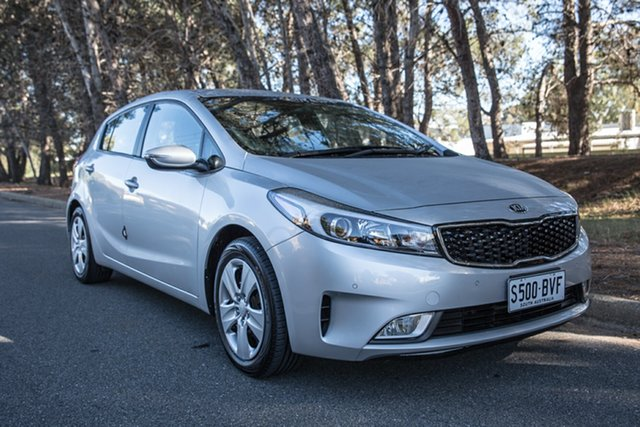 Used Kia Cerato YD MY17 S, 2017 Kia Cerato YD MY17 S Silver 6 Speed Sports Automatic Hatchback