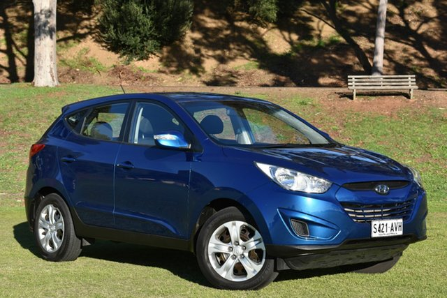 Used Hyundai ix35 LM MY12 Active, 2012 Hyundai ix35 LM MY12 Active Blue 6 Speed Sports Automatic Wagon