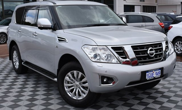 Demo Nissan Patrol Y62 Series 4 TI-L, 2019 Nissan Patrol Y62 Series 4 TI-L Brilliant Silver 7 Speed Sports Automatic Wagon