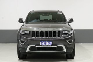 2014 Jeep Grand Cherokee WK MY15 Limited (4x4) Charcoal 8 Speed Automatic Wagon.