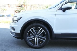 2019 Volkswagen Tiguan 5N MY19.5 162TSI DSG 4MOTION Highline Pure White 7 Speed