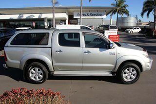 2009 Toyota Hilux KUN26R MY09 SR5 Sterling Silver 4 Speed Automatic Utility.