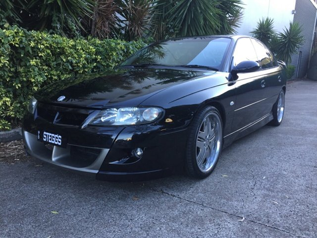 Used Holden Special Vehicles XU6 VX II , 2002 Holden Special Vehicles XU6 VX II Black 4 Speed Automatic Sedan