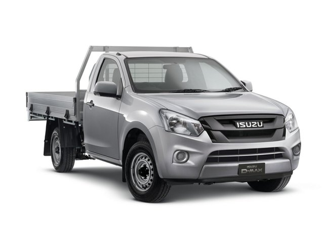 New Isuzu D-MAX MY19 SX 4x2, 2019 Isuzu D-MAX MY19 SX 4x2 Titanium Silver 6 Speed Manual Cab Chassis