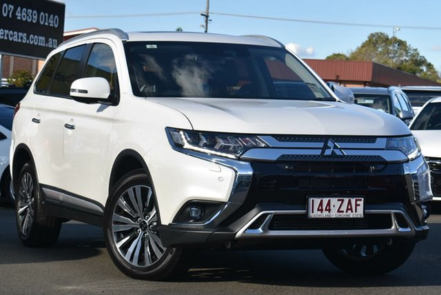 Demo Mitsubishi Outlander ZL MY19 Exceed AWD, 2019 Mitsubishi Outlander ZL MY19 Exceed AWD Starlight 6 Speed Sports Automatic Wagon