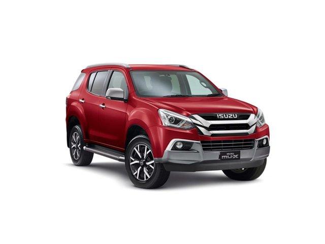 New Isuzu MU-X MY19 LS-T Rev-Tronic, 2019 Isuzu MU-X MY19 LS-T Rev-Tronic Magnetic Red 6 Speed Sports Automatic Wagon